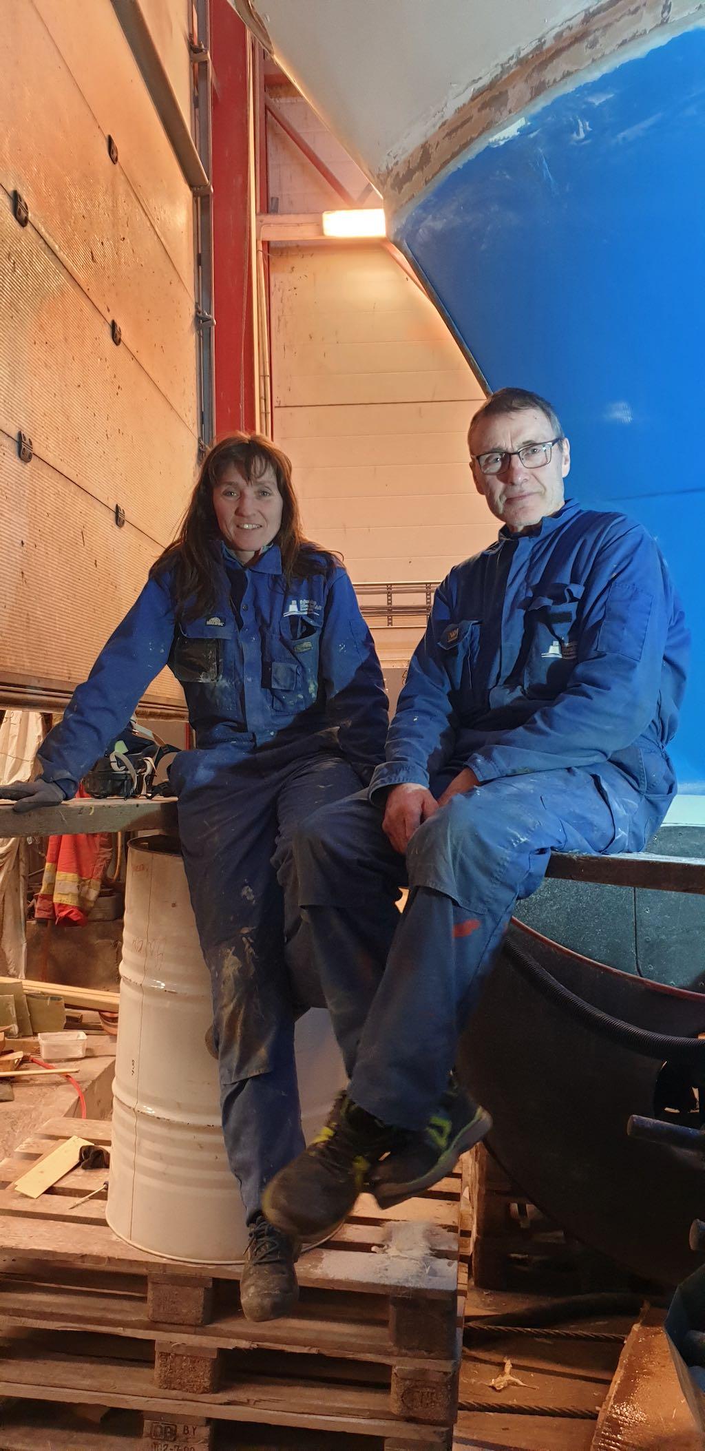 Nina og Torleif Seljestokken i dag.